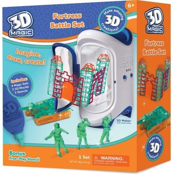 3D Magic – Fortress Battle Theme Set (requires 3D Maker) 1
