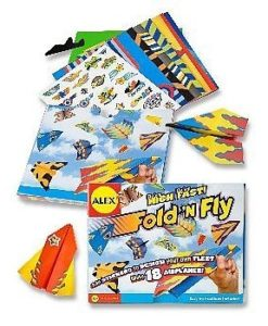 ALEX Fold N Fly Airplanes