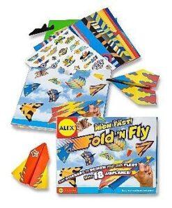 ALEX Fold N Fly Airplanes