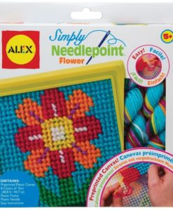 ALEX Simply Needlepoint - Flower