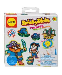 ALEX Shrinky Dinks - Pirates