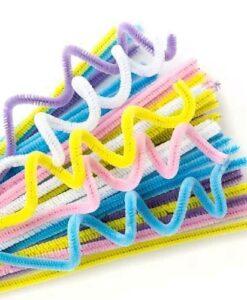 EC Chenille Stems - set of 100 pastel colours