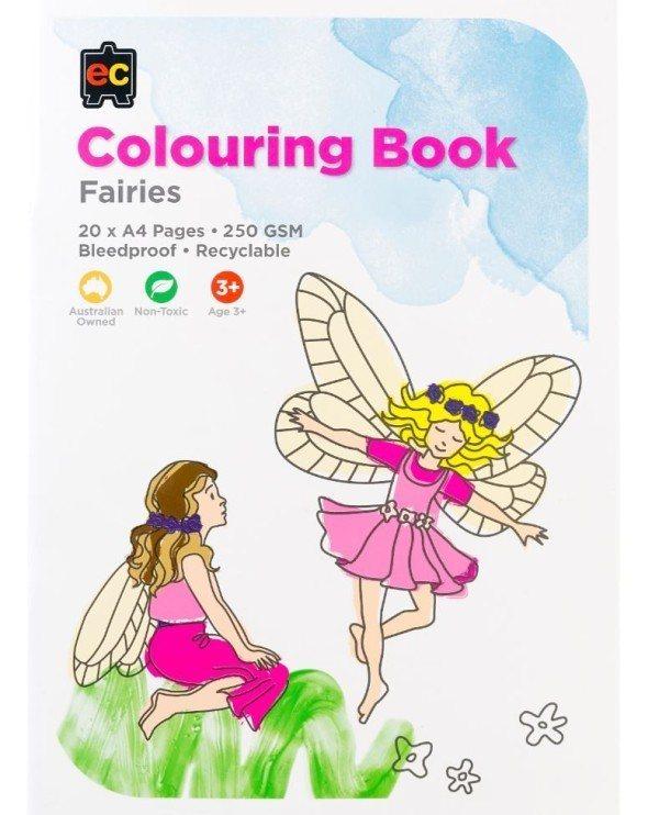 EC Fairies Colouring Book 1