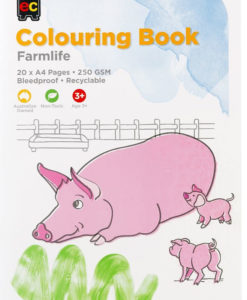 EC Farmlife Colouring Book