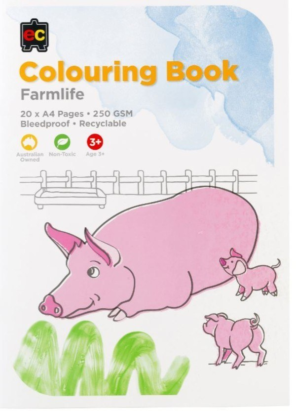 EC Farmlife Colouring Book 1