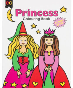 EC Princesses Colouring Book