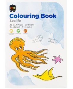 EC Sealife Colouring Book