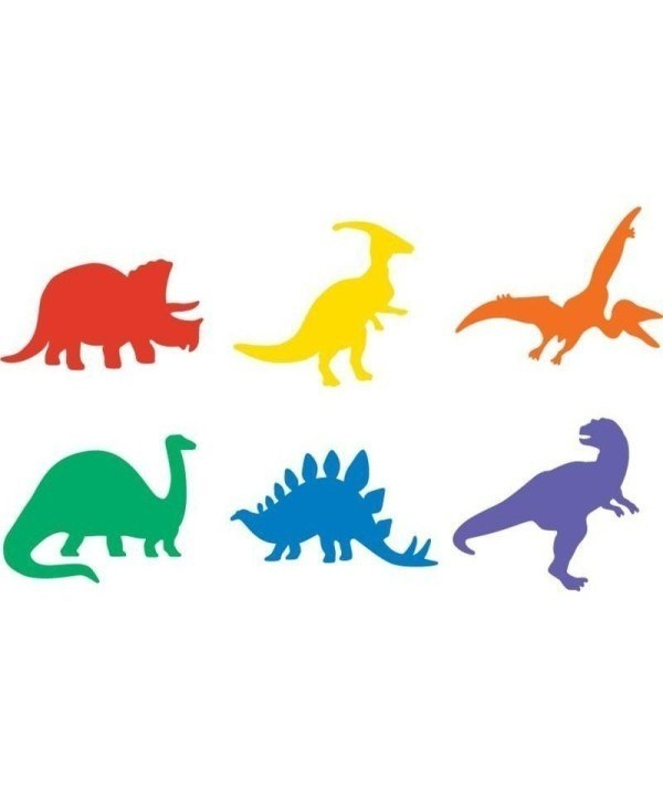 EC Dinosaur Stencil Set – Set of 6 1