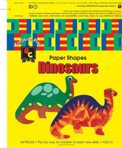 EC Fun Shapes (pack of 24) - Dinosaurs