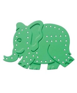 EC Lacing Shapes (Set of 3) - Jungle Animals