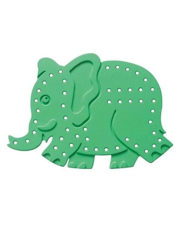 EC Lacing Shapes (Set of 3) – Jungle Animals 1