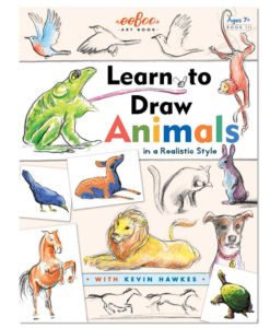 Eeboo Learn to Draw - Animals in a Realistic Style
