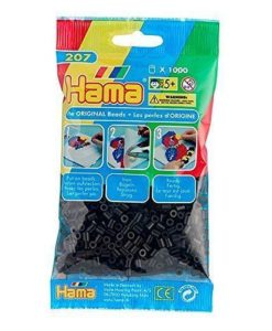 Hama Beads - Black - pack of 1000 (Standard Beads (Midi))