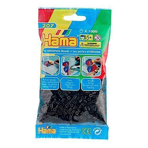 Hama Beads – Black – pack of 1000 (Standard Beads (Midi)) 1
