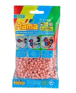 Hama Beads - Flesh colour - pack of 1000 (Standard Beads (Midi))