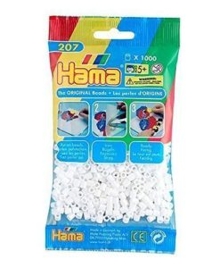 Hama Beads - White - pack of 1000 (Standard Beads (Midi))