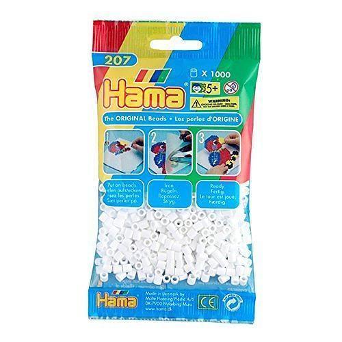 Hama Beads – White – pack of 1000 (Standard Beads (Midi)) 1