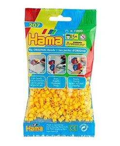 Hama Beads - Yellow - pack of 1000 (Standard Beads (Midi))
