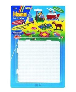 Hama Beads - Pegboards (Square - Set of 4 interlockable)