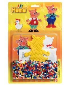 Hama Beads All-In-One Pack - Pig