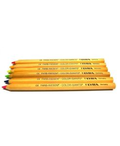 Lyra Color Giants pencils - set of 6 luminous colours