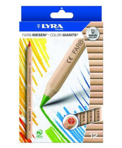 Lyra Color Giants Pencils (pack of 12)
