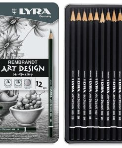 Lyra Rembrandt Art Design Graphite Pencils (set of 12)