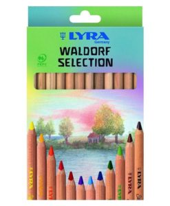 Lyra Super Ferby Nature (Waldorf Selection) Pencils - Pack of 12