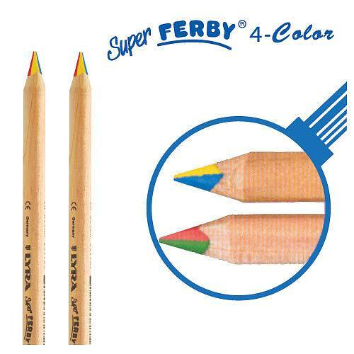 Lyra Super Ferby – 4-in-1 Colour Pencils (individual) 1
