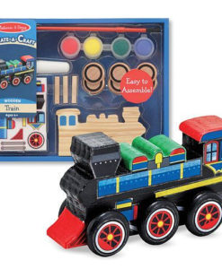 Melissa & Doug Create-A-Craft Wooden Train