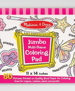 Melissa & Doug Jumbo Multi-Theme Colouring Pad - Pink