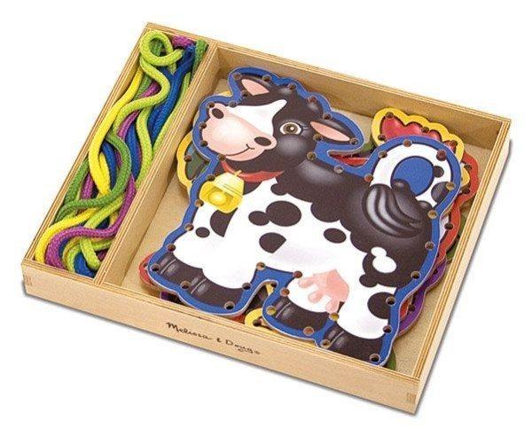 Melissa & Doug Lace & Trace Farm Animals 1