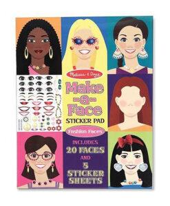 Melissa & Doug Make-a-Face Sticker Pad - Fashion