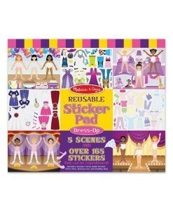 Melissa & Doug Reusable Sticker Pad - Dress Up
