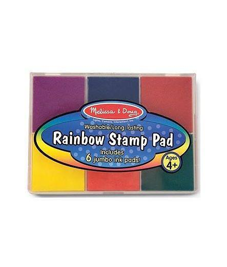 Melissa Doug Rainbow Stamp Ink Pad Craft4Kids Australia