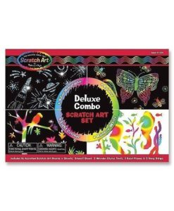 Melissa & Doug Scratch Magic - Deluxe Kit