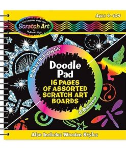 Melissa & Doug Scratch Magic - Doodle Pad Book