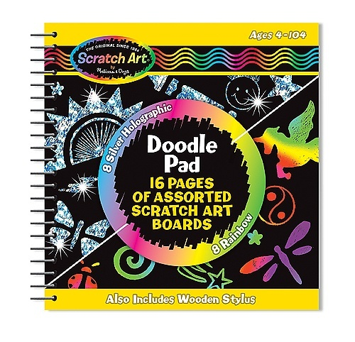 Melissa & Doug Scratch Magic – Doodle Pad Book 1