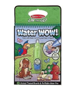 Melissa & Doug Water WOW! Book - Animals (colour with water)