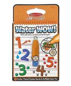 Melissa & Doug Water WOW! Book - Numbers (colour with water)