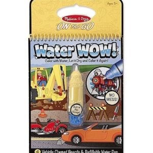 Melissa & Doug Water WOW! Book - Vehicles (colour with water)