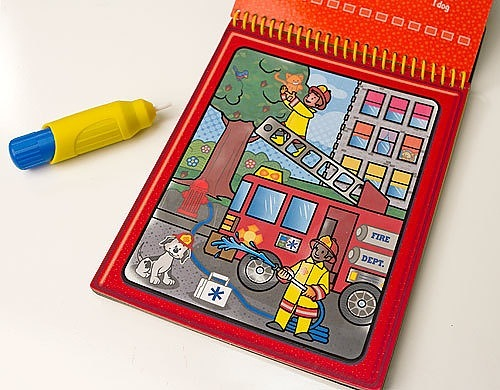 Melissa & Doug Water WOW! Book – Vehicles (colour with water) 2