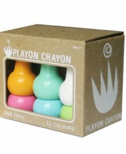 Playon Crayons - Box of 12 (Pastel Colours Pack)