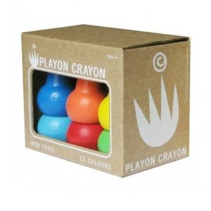 Playon Crayons - Box of 12 (Primary Colours Pack)