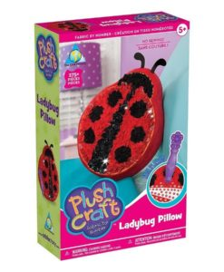 Plush Craft - Ladybug Pillow Fabric By Numbers Kit