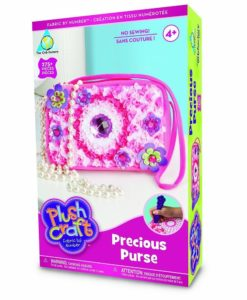 Plush Craft - Precious Purse Fabric By Numbers Kit