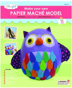 My Studio Girl Make-Your-Own Papier Mache Model - Owl