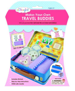 My Studio Girl Make-Your-Own Travel Buddies - Mouse with Teddy