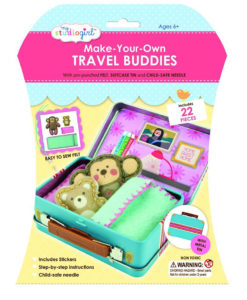 My Studio Girl Make-Your-Own Travel Buddies - Monkey with Teddy