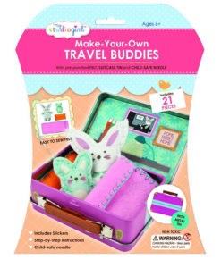 My Studio Girl Make-Your-Own Travel Buddies - Bunny & Little Bunny